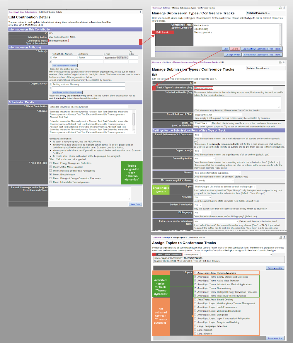 conftool submission configuration examples image 3 assign topics to tracks click on image to enlarge